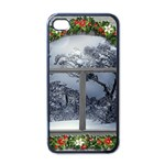 Winter 1660924 1920 Apple iPhone 4 Case (Black) Front