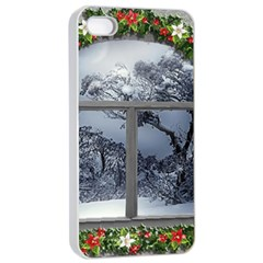 Winter 1660924 1920 Apple iPhone 4/4s Seamless Case (White)