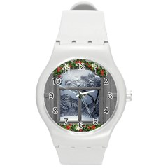Winter 1660924 1920 Round Plastic Sport Watch (M)