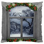 Winter 1660924 1920 Large Cushion Case (Two Sides) Back