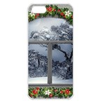 Winter 1660924 1920 Apple iPhone 5 Seamless Case (White) Front