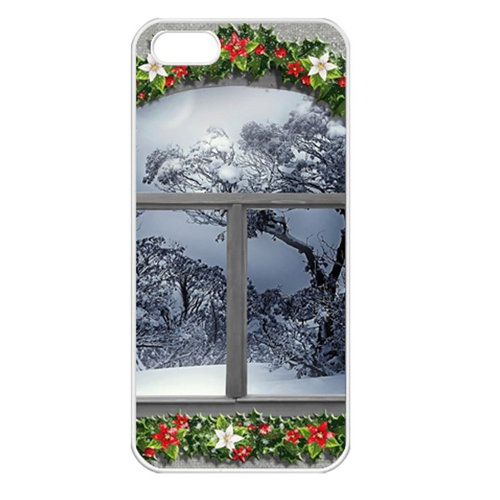 Winter 1660924 1920 Apple iPhone 5 Seamless Case (White)