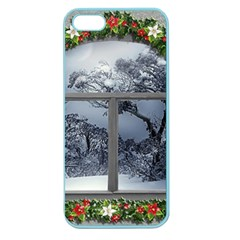 Winter 1660924 1920 Apple Seamless iPhone 5 Case (Color)