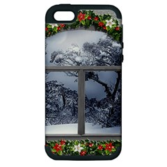 Winter 1660924 1920 Apple Iphone 5 Hardshell Case (pc+silicone)