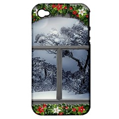 Winter 1660924 1920 Apple iPhone 4/4S Hardshell Case (PC+Silicone)
