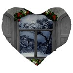 Winter 1660924 1920 Large 19  Premium Heart Shape Cushions Front