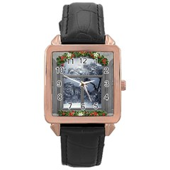Winter 1660924 1920 Rose Gold Leather Watch