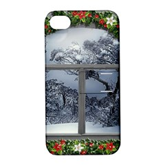 Winter 1660924 1920 Apple iPhone 4/4S Hardshell Case with Stand