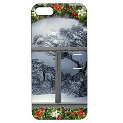 Winter 1660924 1920 Apple iPhone 5 Hardshell Case with Stand