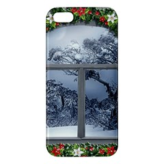 Winter 1660924 1920 Apple Iphone 5 Premium Hardshell Case by vintage2030
