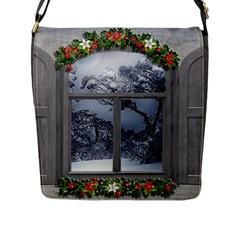 Winter 1660924 1920 Flap Closure Messenger Bag (L)