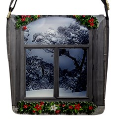 Winter 1660924 1920 Flap Closure Messenger Bag (S)