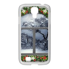 Winter 1660924 1920 Samsung GALAXY S4 I9500/ I9505 Case (White)