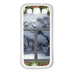 Winter 1660924 1920 Samsung Galaxy S3 Back Case (White)