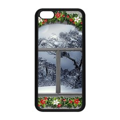 Winter 1660924 1920 Apple iPhone 5C Seamless Case (Black)