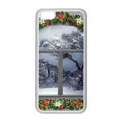 Winter 1660924 1920 Apple iPhone 5C Seamless Case (White)