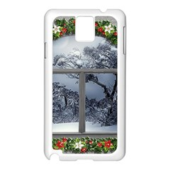 Winter 1660924 1920 Samsung Galaxy Note 3 N9005 Case (White)