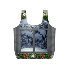 Winter 1660924 1920 Full Print Recycle Bag (S)