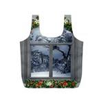 Winter 1660924 1920 Full Print Recycle Bag (S) Back