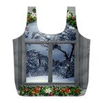 Winter 1660924 1920 Full Print Recycle Bag (L) Back