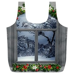 Winter 1660924 1920 Full Print Recycle Bag (XL)