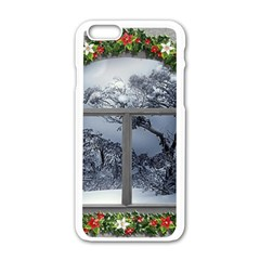 Winter 1660924 1920 Apple iPhone 6/6S White Enamel Case