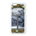 Winter 1660924 1920 Apple iPhone 6/6S White Enamel Case Front