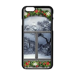 Winter 1660924 1920 Apple iPhone 6/6S Black Enamel Case