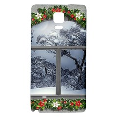 Winter 1660924 1920 Samsung Note 4 Hardshell Back Case
