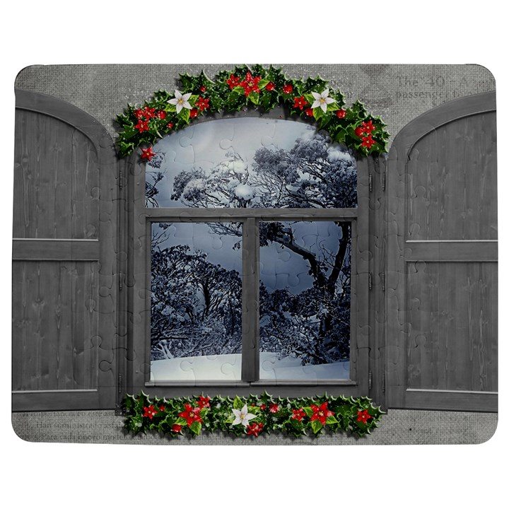 Winter 1660924 1920 Jigsaw Puzzle Photo Stand (Rectangular)