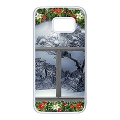 Winter 1660924 1920 Samsung Galaxy S7 White Seamless Case