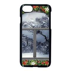Winter 1660924 1920 Apple iPhone 7 Seamless Case (Black)