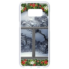 Winter 1660924 1920 Samsung Galaxy S8 White Seamless Case