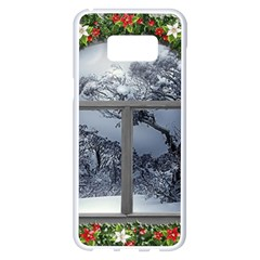 Winter 1660924 1920 Samsung Galaxy S8 Plus White Seamless Case