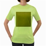 Background 1706632 1920 Women s Green T-Shirt Front