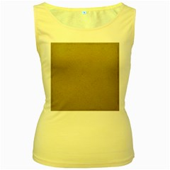 Background 1706632 1920 Women s Yellow Tank Top