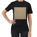 Background 1706632 1920 Women s T-Shirt (Black) (Two Sided) Front