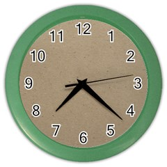 Background 1706632 1920 Color Wall Clock