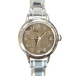 Background 1706636 1920 Round Italian Charm Watch Front