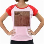 Background 1706636 1920 Women s Cap Sleeve T-Shirt Front