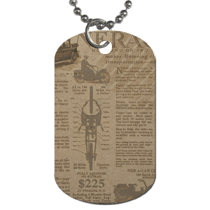 Background 1706636 1920 Dog Tag (One Side)
