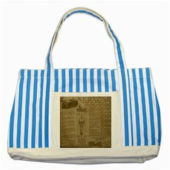 Background 1706636 1920 Striped Blue Tote Bag