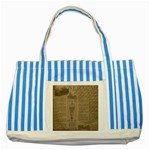 Background 1706636 1920 Striped Blue Tote Bag Front