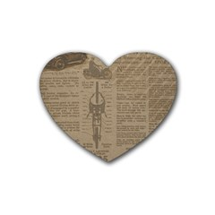 Background 1706636 1920 Heart Coaster (4 Pack)