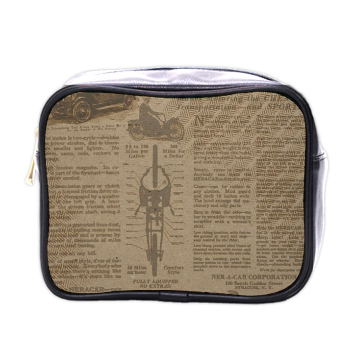 Background 1706636 1920 Mini Toiletries Bag (One Side)
