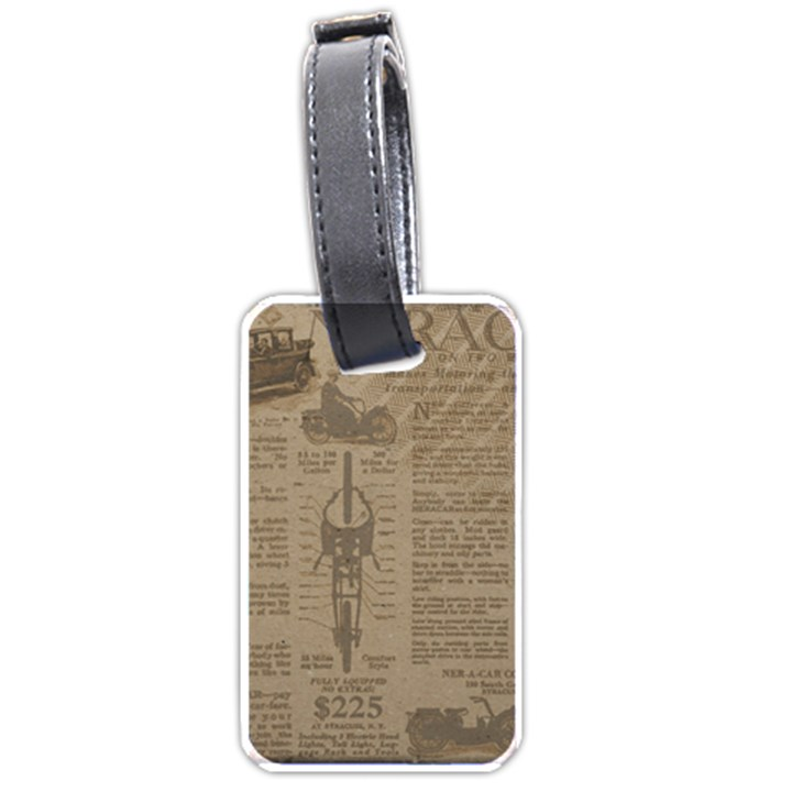 Background 1706636 1920 Luggage Tags (One Side)