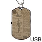 Background 1706636 1920 Dog Tag USB Flash (One Side) Front