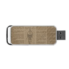 Background 1706636 1920 Portable Usb Flash (two Sides)