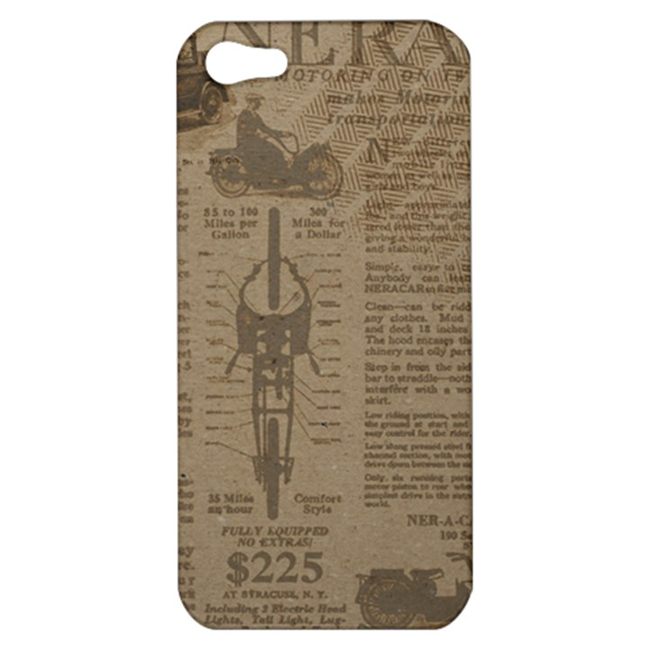 Background 1706636 1920 Apple iPhone 5 Hardshell Case