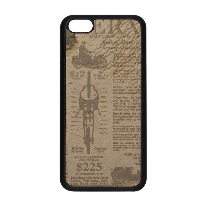 Background 1706636 1920 Apple iPhone 5C Seamless Case (Black)